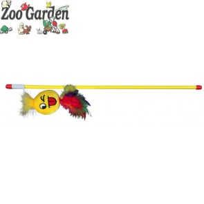 trixie gioco canna da pesca con smiley 50 cm