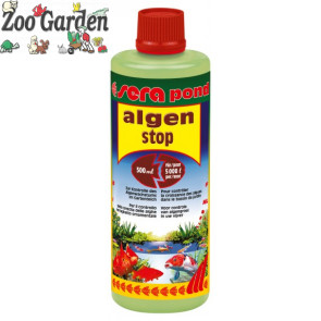 sera antialghe laghetto pond algenstop 500 ml