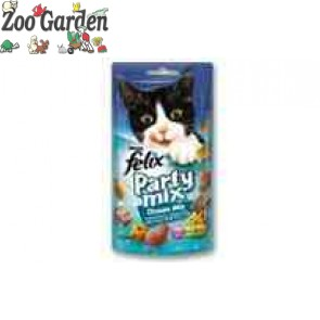 felix snack party mix 60 gr. ocean fish