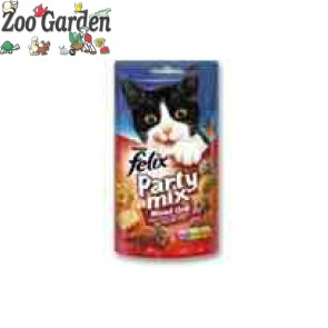 felix snack party mix 60 gr. mixed gril
