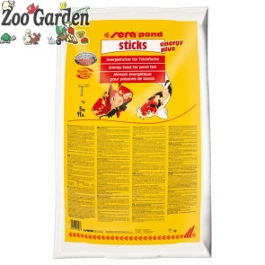 sera mangime laghetto pond sticks energy plus 5 kg
