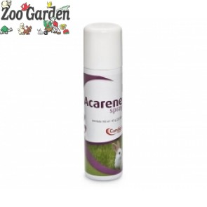 acarene spray 300ml per uccelli/roditori