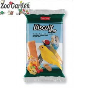 padovan biscotti uccelli biscuit fruit 5 pz 30gr