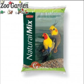 padovan mangime uccelli natural parrocchetti 25 kg