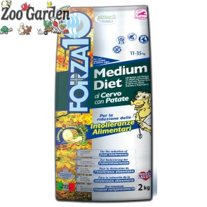 forza 10 cane medium diet cervo e patate 14 kg