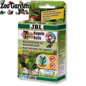 jbl fertilizzante acquari sfere kugeln ball 7+13pz
