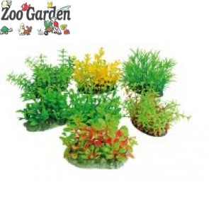 wave deco tropical plants 14 - 17 cm