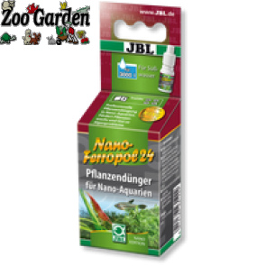jbl fertilizzante acquari nano ferropol 24 10 ml