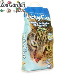 letty cat lettiera di bentonite profumata 10 kg