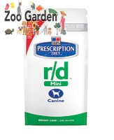 hill's prescription diet canine r/d mini 1,5 kg