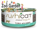 sushicat natural food tonno con gamberetti 70 gr