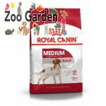 Royal canin dog adult medium 15kg+3kg