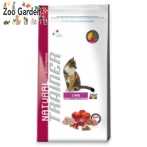 trainer cat fitness adult agnello 400 gr
