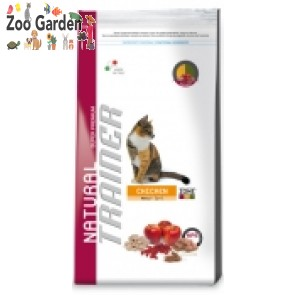trainer cat natural adult pollo 400 gr