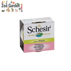 schesir cat in brodo filetti di pollo 70 gr