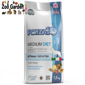 Forza 10 dog diet adult medium pesce 1,5kg