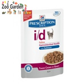 hill's prescription diet feline i/d salmone 85 gr
