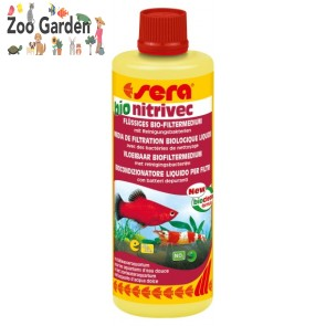 sera batteri acquario bio nitrivec 100 ml