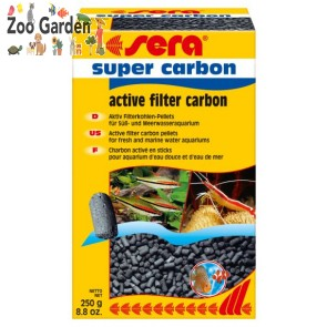 sera carbone acquari super carbon active 250 gr