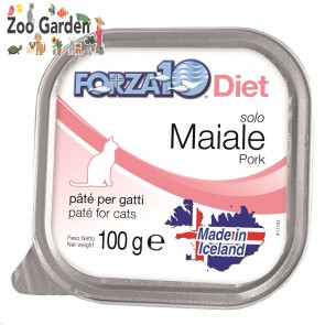 Forza 10 cat solo maiale 100gr