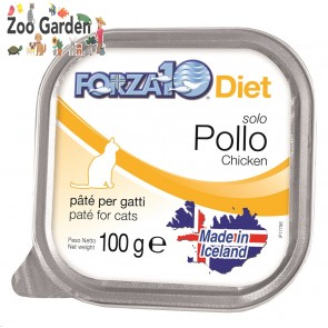 Forza 10 cat solo pollo 100gr